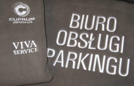 Haft na bluzach, odzieży roboczej - znakowanie odzieży