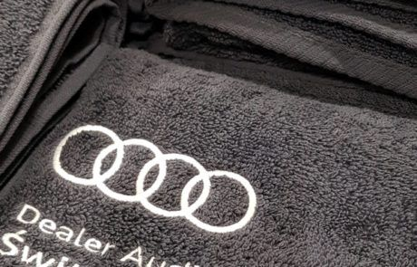 Haft - HEXO - Ręczniki Audi