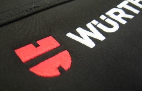 Haft WURTH - znakowanie odzieży