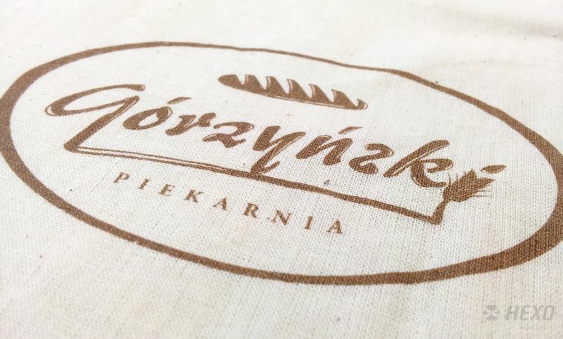 Torby bawełniane z nadrukiem sitodrukowym Górzyński