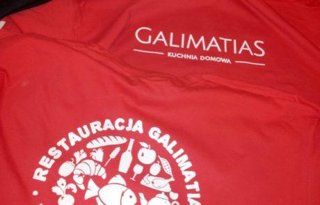 Koszulki bawełniane Galimatias Ustka - znakowanie odzieży