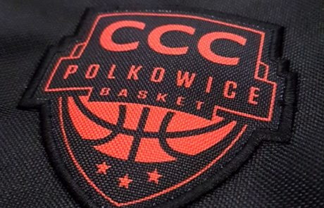 Naszywka sublimacyjna CCC Polkowice - znakowanie odzieży
