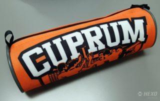 Piórnik tuba dla Cuprum Lubin siatkówki
